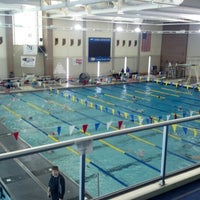 Photo taken at Carmel Aquatic Center at Carmel High School by Bill S. on 2/2/2013