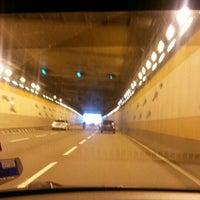 Photo taken at Jalan Tun Razak Tunnel by Chum H. on 11/28/2015