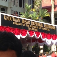 Photo taken at Embassy of the Republic of Indonesia by Cindy H. on 8/17/2013