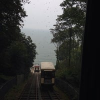Photo taken at Babbacombe Cliff Railway by Nicole H. on 9/19/2014
