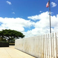 Photo taken at USS Oklahoma Memorial by Francie W. on 8/3/2013