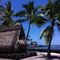 Photo taken at Puʻuhonua o Hōnaunau National Historical Park by Francie W. on 5/29/2015