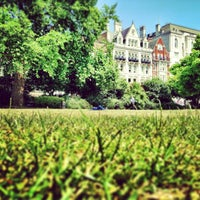 Photo taken at Bloomsbury Square by 苫米地 由. on 7/11/2013
