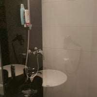 Photo taken at Motel One Berlin-Bellevue by Thomas P. on 8/26/2014