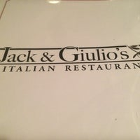 Photo taken at Jack & Giulio's Italian Restaurant by Danny O. on 9/13/2015