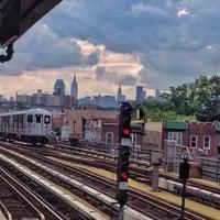 Photo taken at MTA Bus - 7 Av & W 57 St (M31/M57/X12/X14/X30/X42) by Norha I. on 10/16/2014