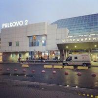 Photo taken at Аэропорт Пулково-2 / Pulkovo-2 Airport (LED) by Alexey💯 on 7/23/2013