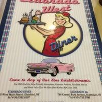Photo taken at Eldorado West Diner by Matthew C. on 12/25/2012