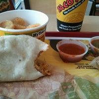 Photo taken at Taco John's by Ron N. on 6/14/2012