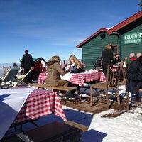 Photo taken at Cloud Nine Alpine Bistro by Louis B. on 1/5/2013