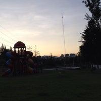 Photo taken at Parque Teca by Luisa C. on 10/5/2014