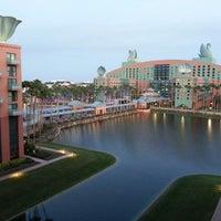 Photo taken at Walt Disney World Swan Hotel by Steve A. on 2/19/2013