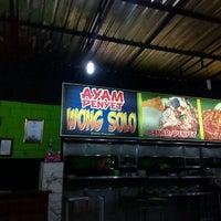 Photo taken at Ayam Penyet Wong Solo by Fatihah M. on 4/3/2016