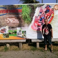 Photo taken at Kasembon Rafting by catoer m. on 8/9/2013