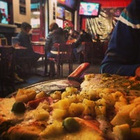 Photo taken at Central de Pizzas Polanco by Mathias E. on 12/24/2012