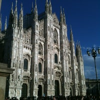 Photo taken at Milan Cathedral by Criqua P. on 3/31/2013