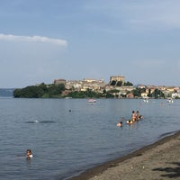Photo taken at Lungolago Capodimonte by Fra S. on 7/6/2015