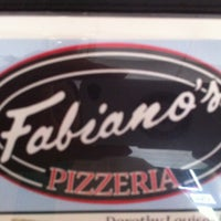 Photo taken at Fabiano's Pizzeria by Pam A. on 4/24/2013