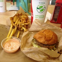 Photo taken at Little Big Burger by April M. on 1/8/2013