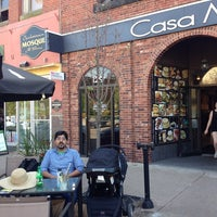 Photo taken at Casa Mia Café by Usman I. on 6/2/2014