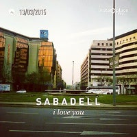 Photo taken at Hotel Catalonia Sabadell **** by Pepe T. on 3/13/2015