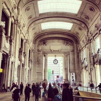 Photo taken at Stazione Milano Centrale by Marco M. on 5/22/2013