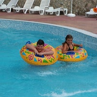 Photo taken at Aquapark Aquamania by Paffy P. on 8/28/2014