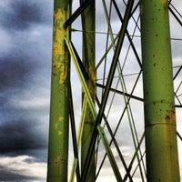 Photo taken at Alma Water Tower by Luke L. on 3/16/2013
