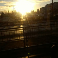 Photo taken at TriMet N Lombard Transit Center by Luke L. on 3/7/2013