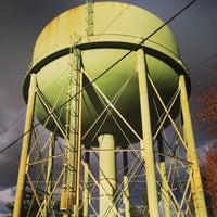 Photo taken at Alma Water Tower by Luke L. on 3/28/2014