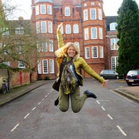 Photo taken at Newnham College by Nileshd D. on 12/20/2013