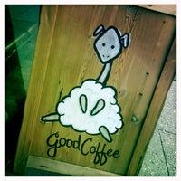 Photo taken at Kaffe 1668 by Jonathan P. on 6/21/2013