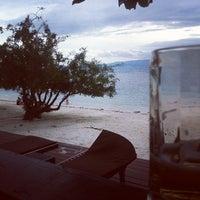 Photo taken at Sarikantang Resort & Spa, Koh Phangan by Adam S. on 9/15/2012