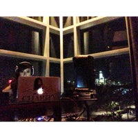 Photo taken at Chandelier Room at W Hotel by Stefan B. on 9/14/2013