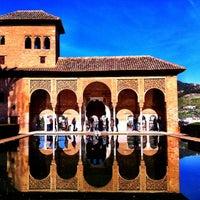 Photo taken at La Alhambra y el Generalife by Renato W. on 1/6/2013