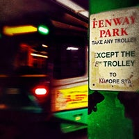 Photo taken at MBTA Green Line - B Train by Pixelstud on 12/9/2012