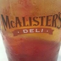 Photo taken at McAlister's Deli by Teresa G. on 5/27/2013