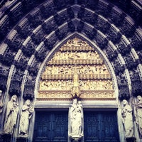 Photo taken at Cologne Cathedral by Lars B. on 3/29/2013