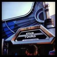 Photo taken at Star Tours - The Adventures Continue by Jason G. on 7/20/2013