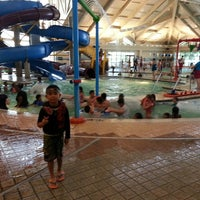 Photo taken at Silliman Family Aquatic Center by Long-long L. on 7/3/2014