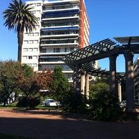 Photo taken at Plaza Gomensoro by Pablo F. on 4/20/2013