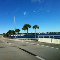 Photo taken at Caloosahatchee Bridge by Jeff O. on 12/22/2012