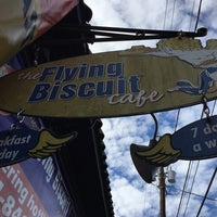 Photo taken at The Flying Biscuit Cafe by Kevin B. on 1/3/2016