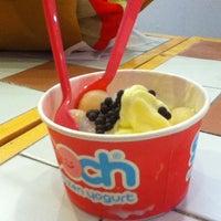 Photo taken at Smooch Unlimited Frozen Yogurt by steven a. on 2/17/2013