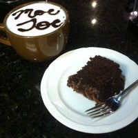 Photo taken at Moe Joe Coffee and Music House by Alex D. on 2/11/2013