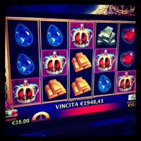 Photo taken at Casinò Le Palme by Le P. on 12/26/2012