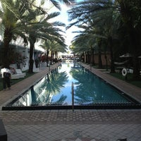 Photo taken at Delano South Beach by Manny L. on 2/1/2013