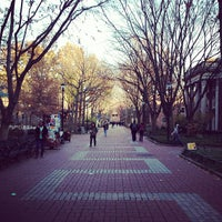 Photo taken at Locust Walk by Peter W. on 11/29/2012