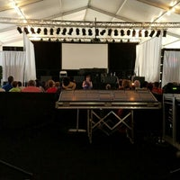 Photo taken at XRIJF Big Tent by Paula S. on 6/23/2016