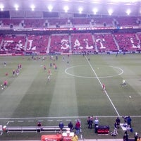 Photo taken at Rio Tinto Stadium by Major League Soccer on 11/9/2012